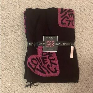 New with tags! Victoria's Secret heart blanket